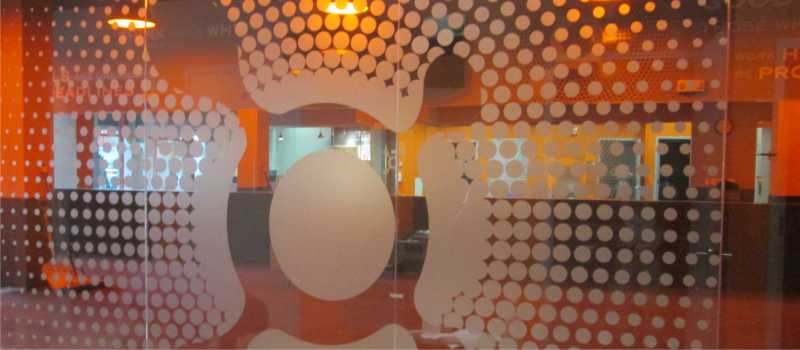 Orangetheory Fitness Glass Wall