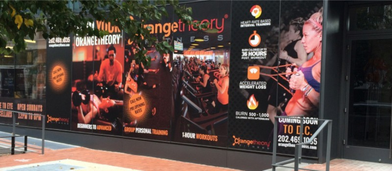 Orangetheory Fitness Window Graphics